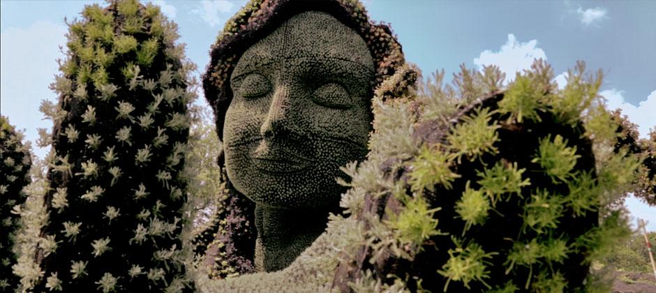 Mosaïcultures sculpture