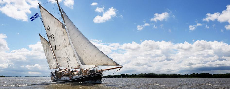 Ecomaris's sailboat the Roter-Sand